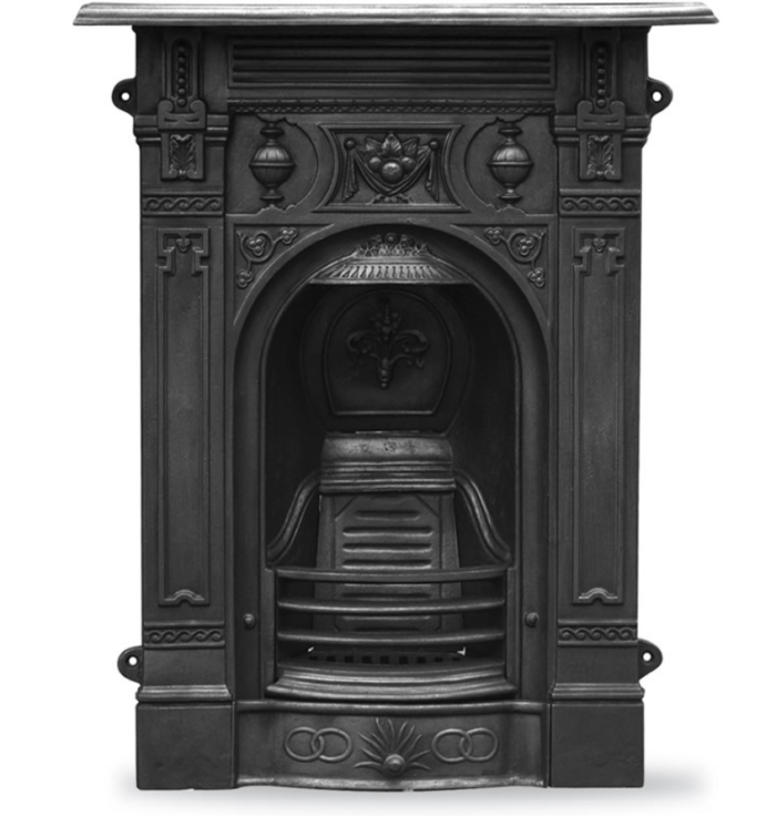Victorian Small Combination Fireplace-0