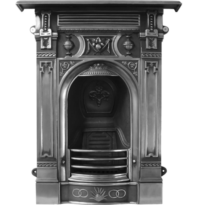 Victorian Small Combination Fireplace-3091