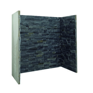 Three Piece Charcoal Slate Chamber -0