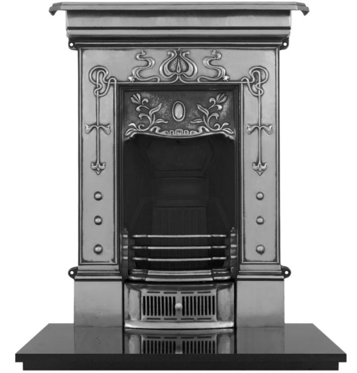 Carron Bella Small Cast Iron Fireplace-0