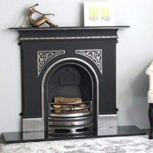 Pembroke Highlighted Cast Iron Fireplace-0