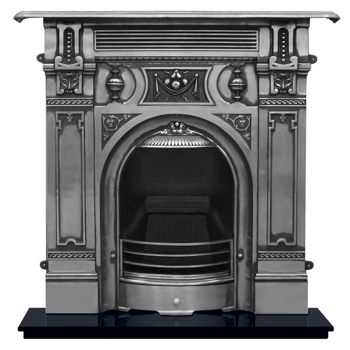 Carron Victorian Large Cast Iron Fireplace-3508