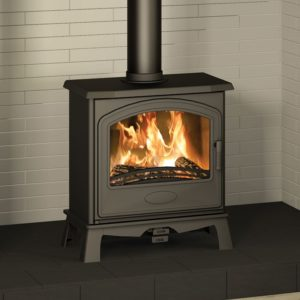 Broseley Hereford 5 SE Widescreen Multifuel Stove-0