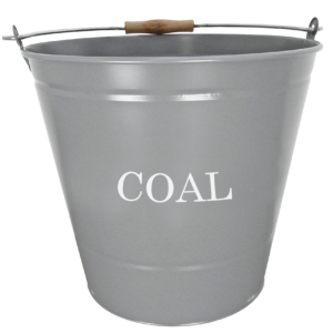 Coal Bucket - Grey-0