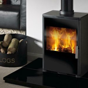 Capital Fireplaces Triton 450 Multi Fuel Stove-0