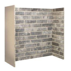 Grey Ceramic Brick Bond Chamber-0