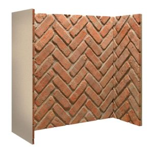 Rustic Herringbone Brick Chamber-0